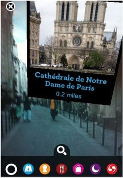 Conde nast traveler augmented reality iphone app